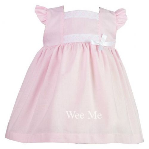 *SALE* Gorgeous Baby Girl Spanish Pink High up Dress
